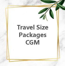 CGM Travel Size Packages