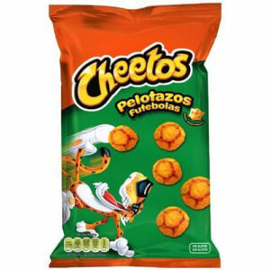 cheetos futebolas chips spaans voetbal